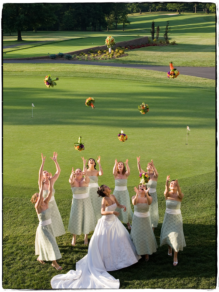 Tossing Bouquets